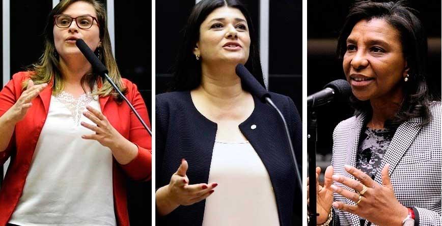 Marília Arraes, Rose Modesto e Rosângela Gomes