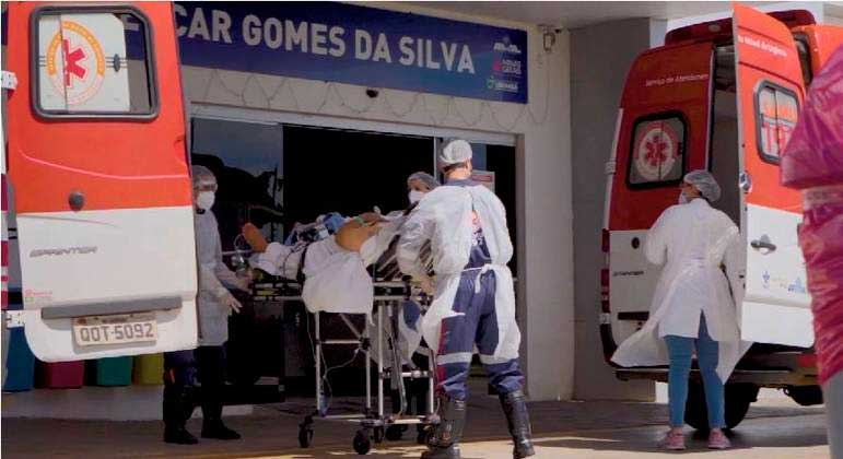 Minas teve, em janeiro, o pior mês desde o início da pandemia REPRODUÇÃO / RECORD TV MINAS