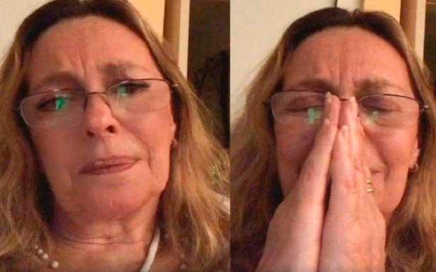 Maria Zilda chora ao anunciar encerramento da Live da Alegria Reprodução Internet