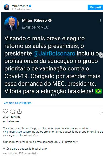 Milton Ribeiro