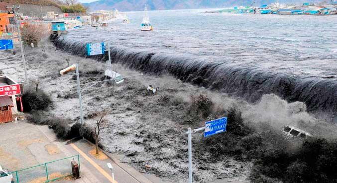 Corpo foi encontrado 10 anos depois de tsunami no Japão MAINICHI SHIMBUN/VIA REUTERS - 11.3.2011