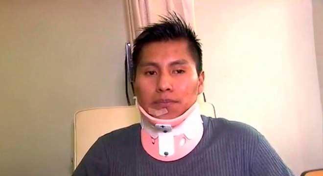 Erwin Tumiri, sobrevivente da tragédia da Chape, saiu vivo de mais um acidente LANCE
