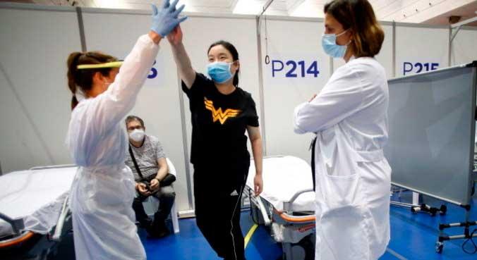 Sequelas da covid-19 podem ser tratadas e curada total ou parcialmente QUIQUE GARCIA/EFE - 21.5.2020