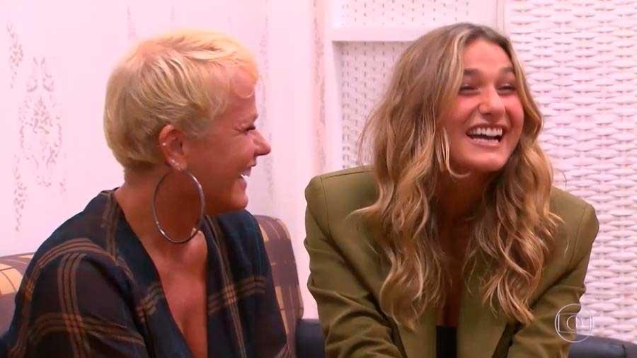 """Xuxa e Sasha no programa """"Caldeirão do Huck"""" Imagem: Reprodução Globo"""