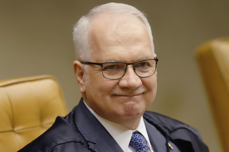O ministro do STF, Edson FachinRosinei Coutinho/STF   Leia mais em: https://veja.abril.com.br/brasil/fachin-vota-para-considerar-ilegal-revista-intima-nos-presidios/
