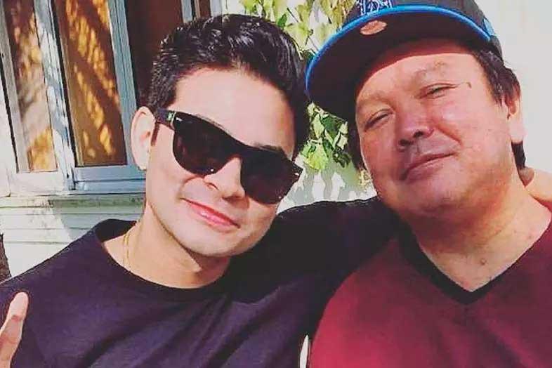 udi e o pai  Foto: Reprodução/Instragram
