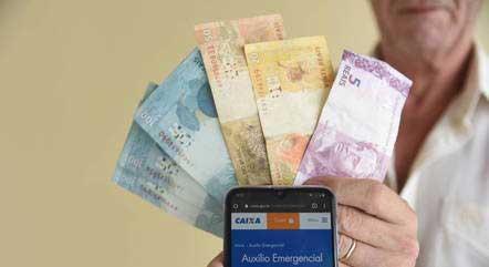 Pagamentos do auxílio começam no próximo dia 6 CAIO ROCHA/FRAMEPHOTO/FOLHAPRESS - 04.03.2021