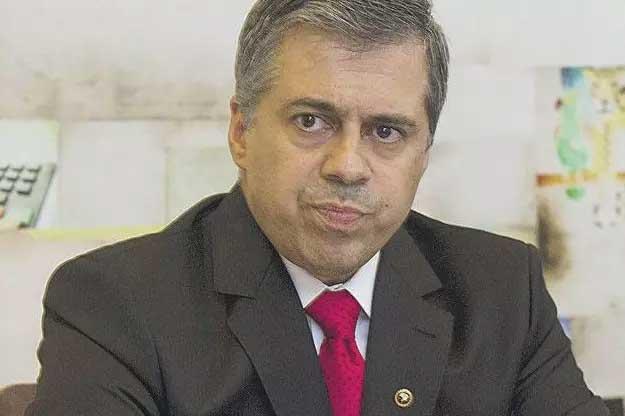 O promotor André Luis Garcia de Pinho em registro de 2014  Foto: GUSTAVO BAXTER/Divulgação