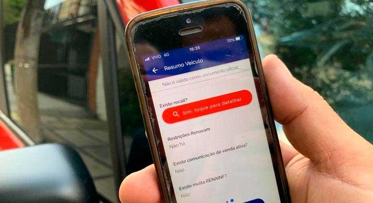 Recall não atendido após 1 ano da notificação será automaticamente incluído no CLA do veículo ANGÉLICA SALES/R7