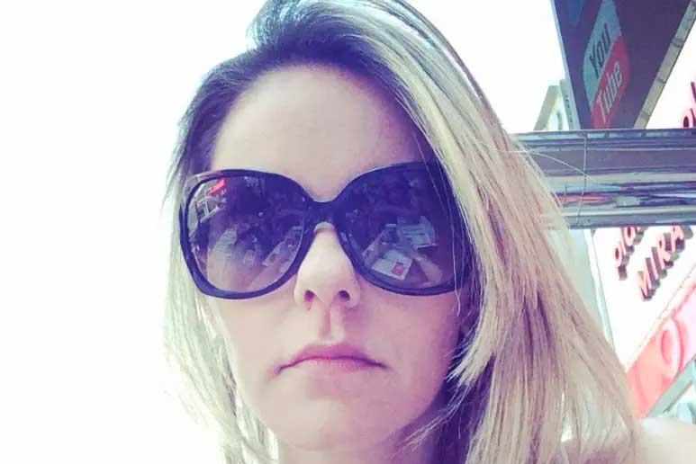 Marido disse que mulher se engasgou, mas perícia indica violência doméstica  Foto: Facebook / reprodução