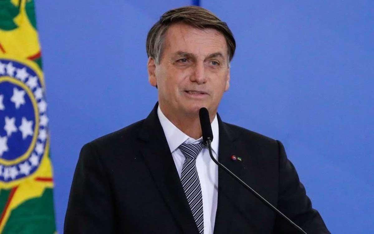 Entre os grupos de extrema direita, a fala do presidente foi interpretada como um pedido de autorização para endurecer a relação com os demais Poderes. reprodução