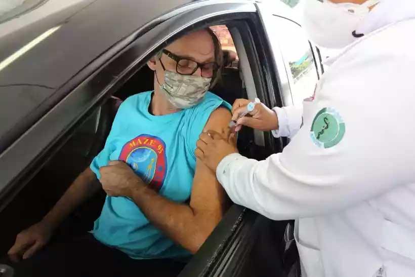 Maior número de vacinados com a primeira dose está em São Paulo, com 7,58 milhões (foto: GovSP)