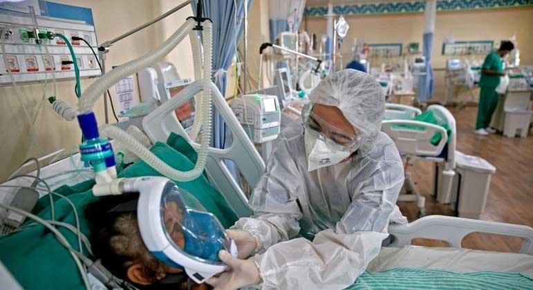 Segundo o Ministério da Saúde, mais de 13 milhões de pessoas já se recuperaram da covid-19 no país TARSO SARRAF/AFP - 26.03.2021