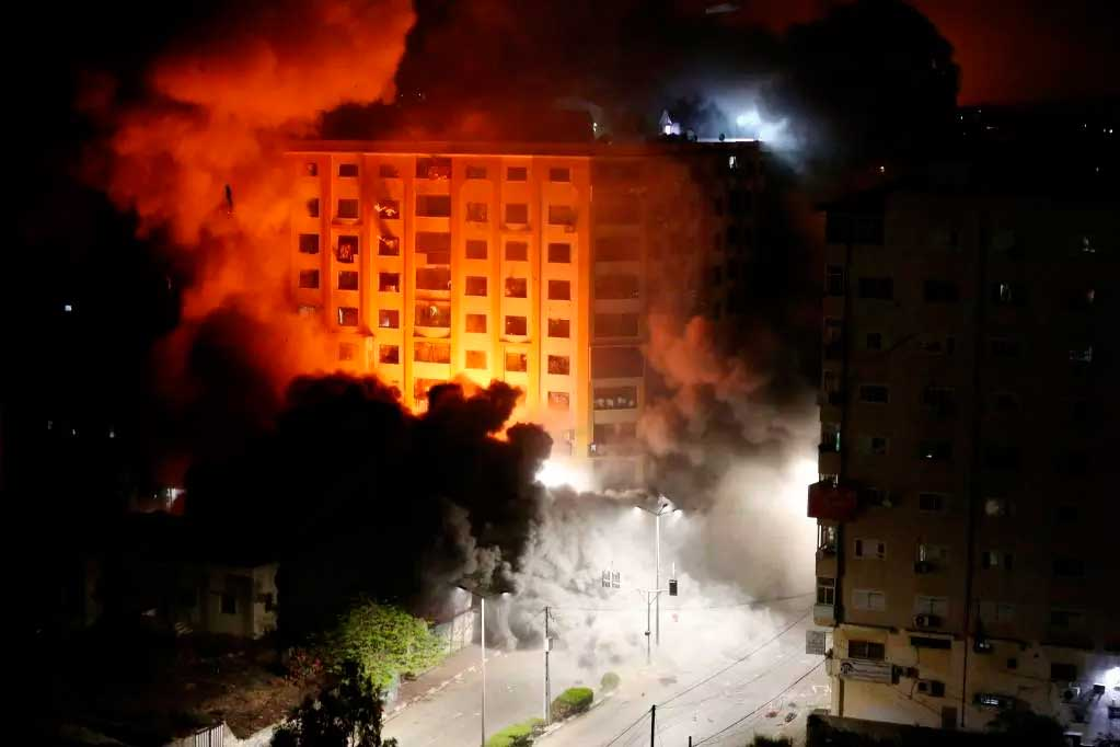Ataques em Jerusalém e na faixa de Gaza já deixaram mais de 40 mortos  Foto: ASHRAF AMRA / AFP