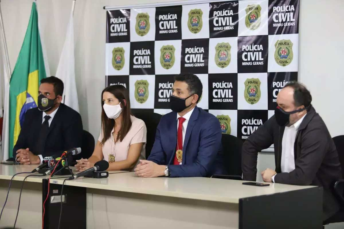Foto: Ramon Bitencourt/O Tempo Foto Foto: Durante coletiva, a Policia Civil orientou aos pais que fiquem atentos aos comportamento dos filhos nas redes sociais
