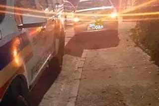 Polícia foi acionada para o local Foto Foto: BHnoQap / Divulgação