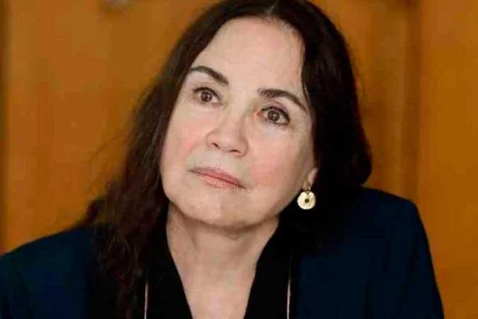 Regina Duarte se perguntou em post: ''onde foi que errei?'' - (crédito: Isac Nóbrega/PR)