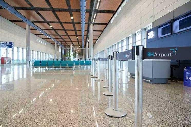 Aviões com brasileiros deportados dos EUA pousam em Confins desde o ano de 2019 Foto Foto: BH Airport / divulgação