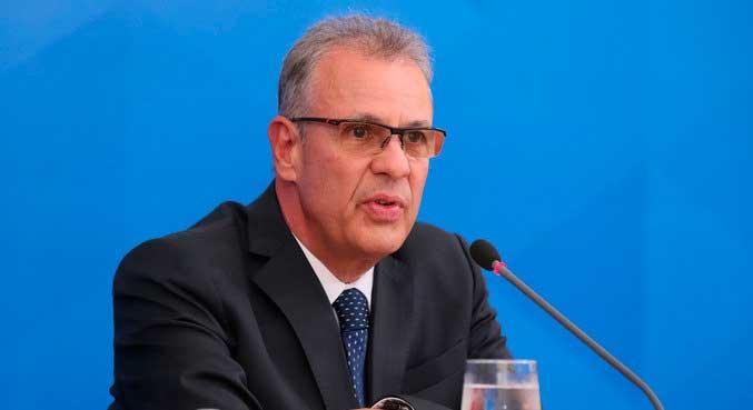 O ministro de Minas e Energia, Bento Albuquerque ISAC NÓBREGA/PR - 02.04.2020