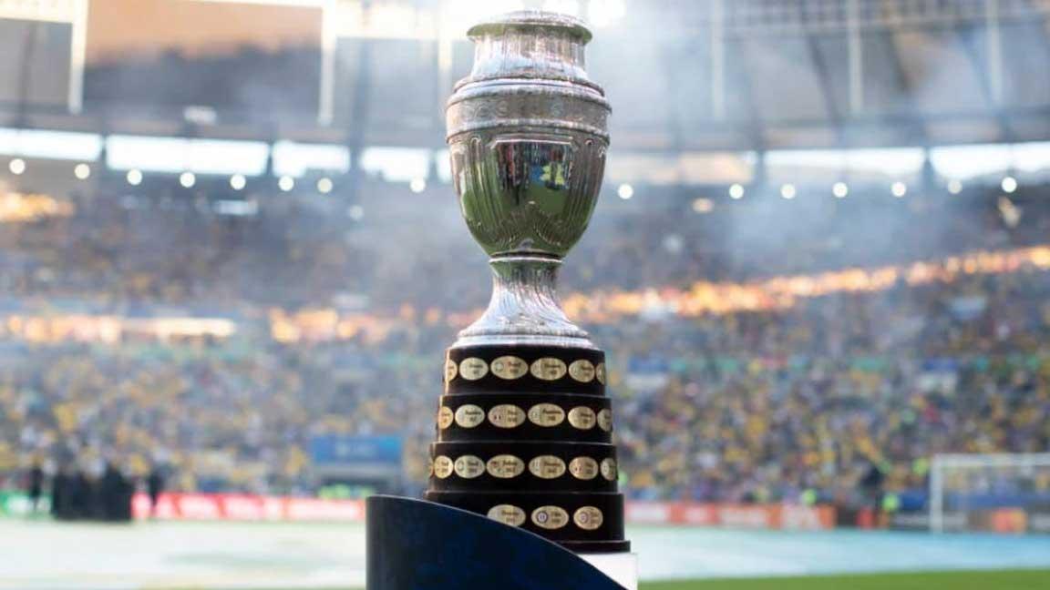 Taça Copa América (Crédito: Lucas Figueiredo/ CBF)