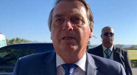Bolsonaro ficou internado em SP na semana passada YOUTUBE/ REPRODUÇÃO 19-07-2021