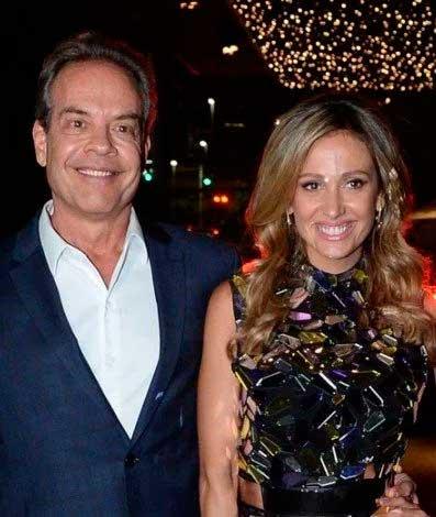 Gilberto Zaborowsky e Luísa Mell Ag. News