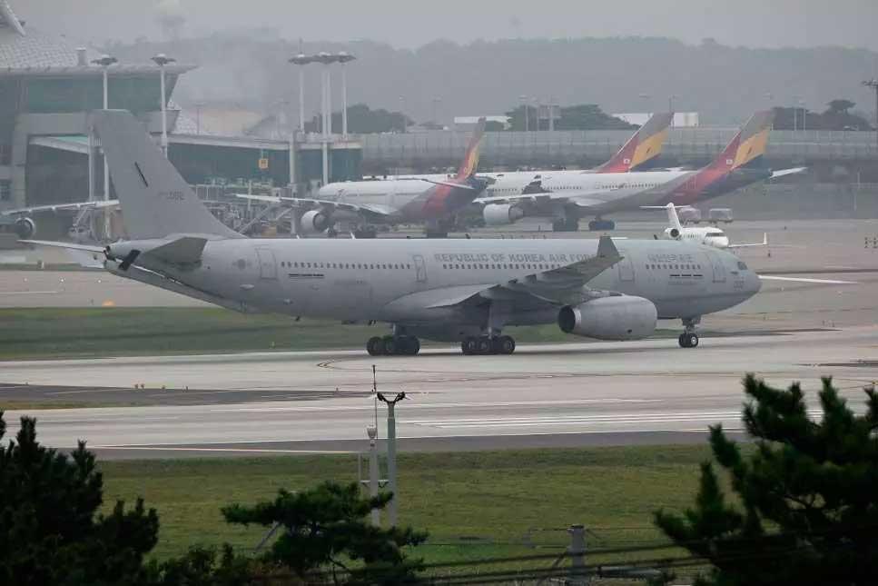 Aeroporto de Cabul Foto Foto: Jung Yeon-je / AFP