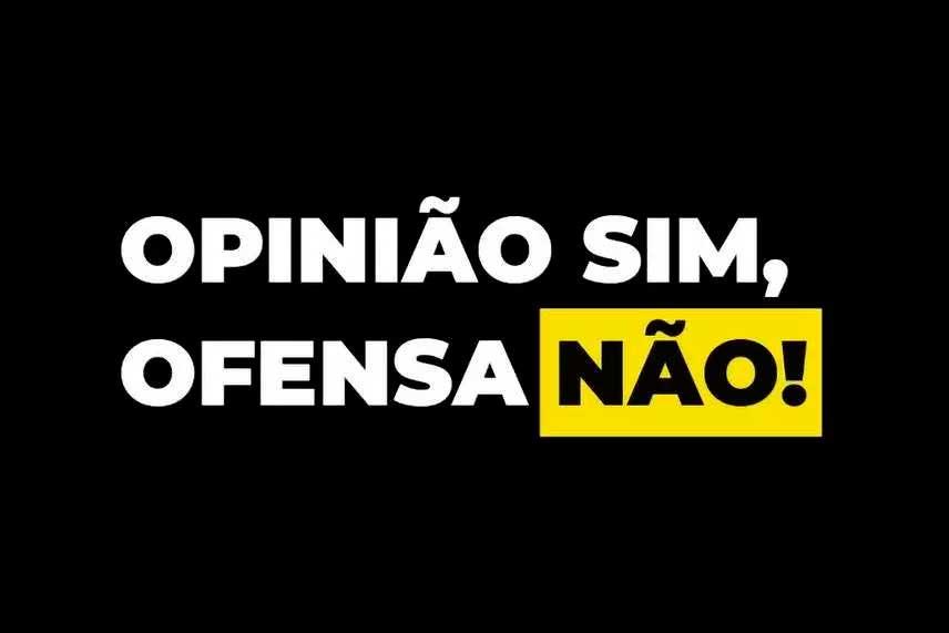 Camisa utilizada pelos profissionais da Sempre Editora em repúdio aos ataques aos jornalistas da empresa Foto Foto: Reprodução