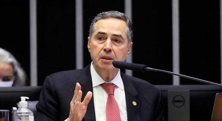 Ministro Luís Roberto Barroso votou a favor da reabertura de inscrições do Enem LUIS MACEDO/CÂMARA DOS DEPUTADOS - 09.06.2021