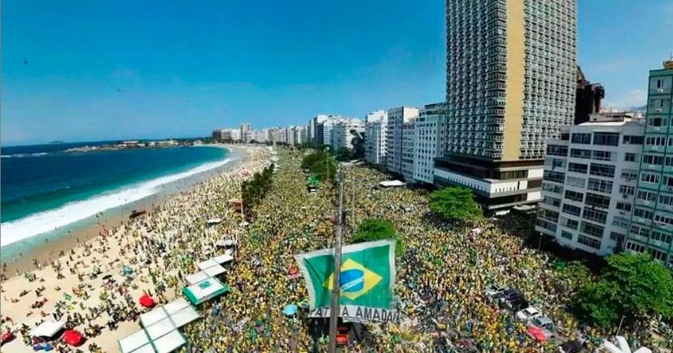 Bolsonaro copacabana