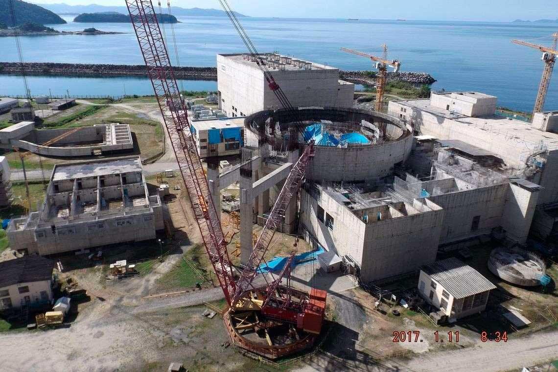Usina de Angra 3 está em construção Foto Foto: Divulgação PAC