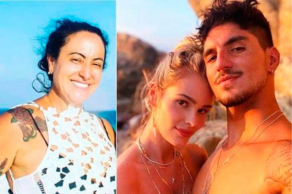 Após acusações pornográficas, Yasmin Brunet vai processar Simone Medina Foto Foto: Montagem sobre reprodução/Instagram