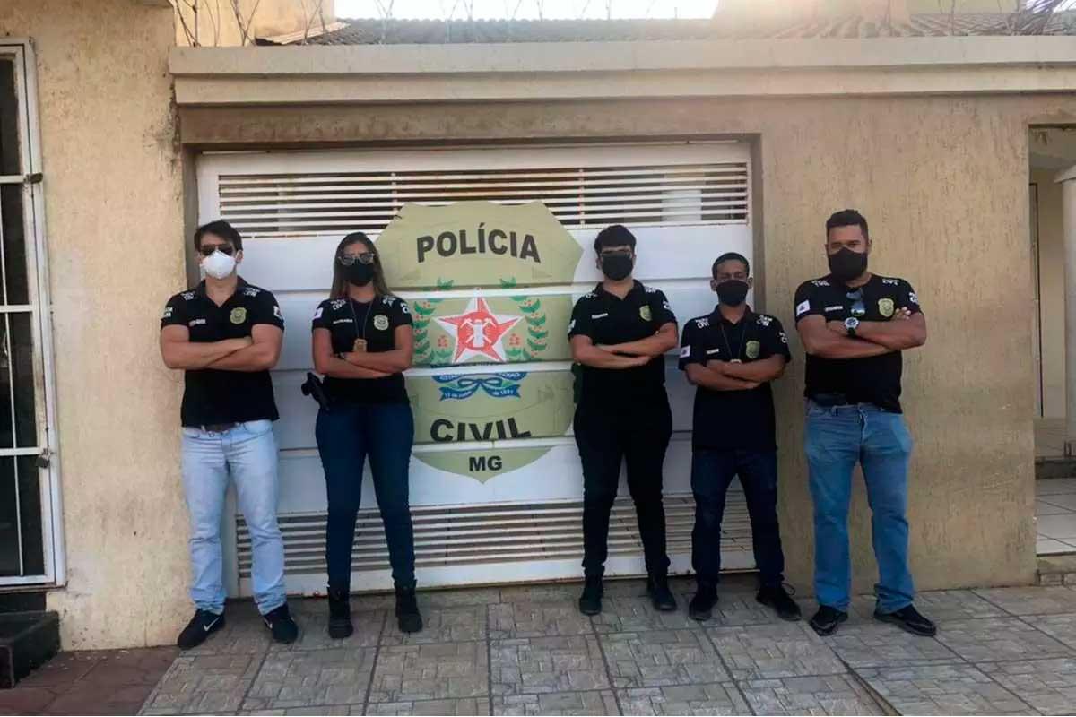 Adolescente foi detido depois de confessar ter matado o irmão em Buritizeiro Foto Foto: Polícia Civil/divulgação