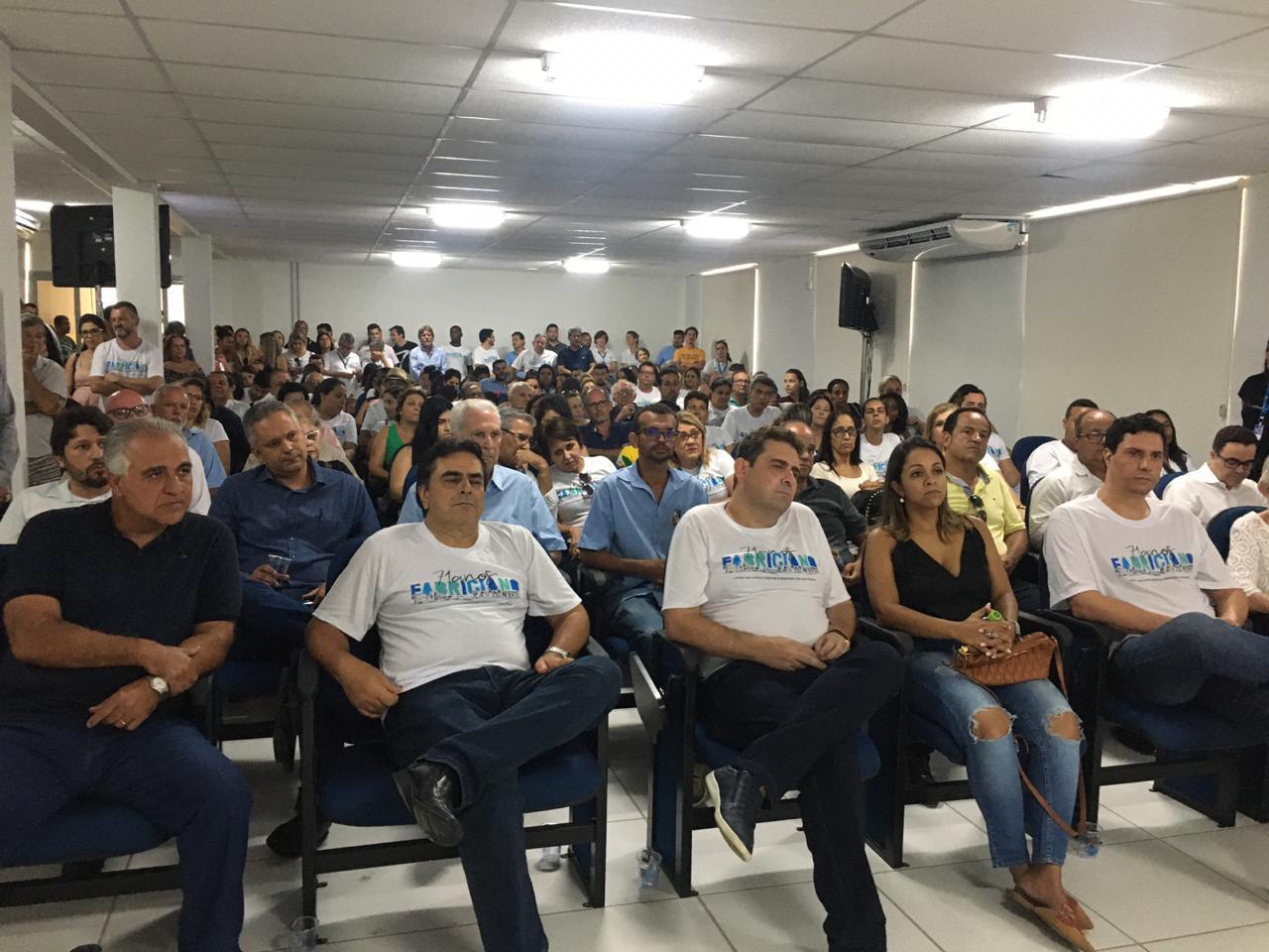 20 01 2020 Entrega do novo Centro Administrativo, no Bom Jesus, também integrou a programação dos 71 anos da cidade.