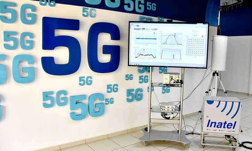 Experimento com a tecnologia 5G em Santa Rita do Sapucaí, Sul de Minas, está a todo vapor (foto: Inatel/Divulgação)