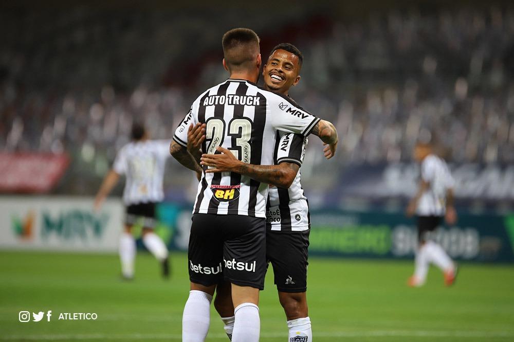 Atlético goleia e se garante na semifinal do Campeonato Mineiro