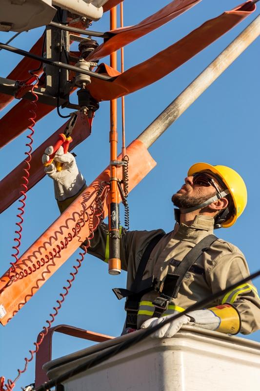 Eletricistas. (Foto: divulgação)