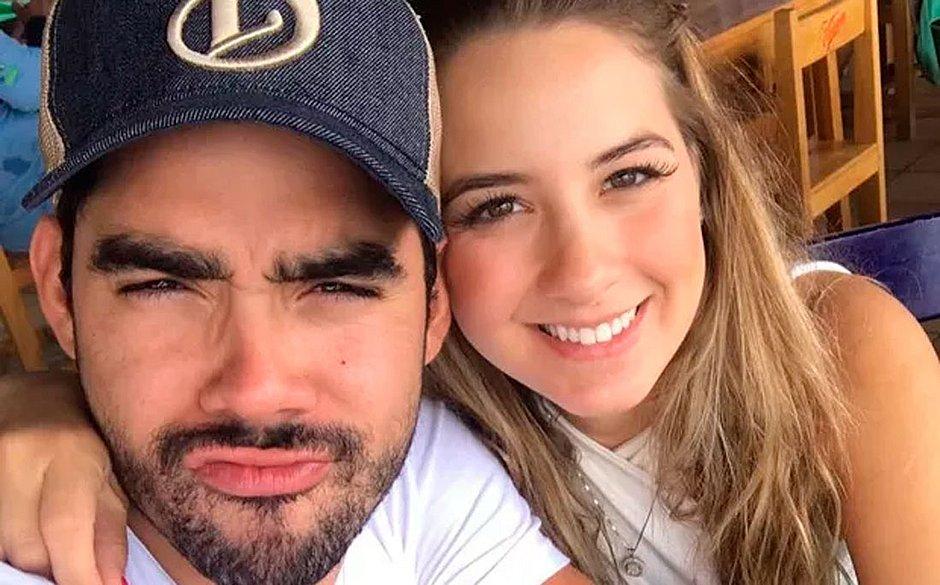 Gabriel Diniz e a noiva