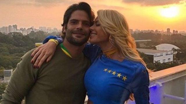 Jorge Sestini e Caroline Bittencourt se casaram em janeiro (Foto: Reprodução/Instagram)