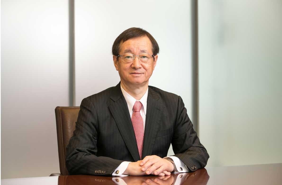 Eiji Hashimoto  Diretor Representativo e Presidente  Nippon Steel Corporation