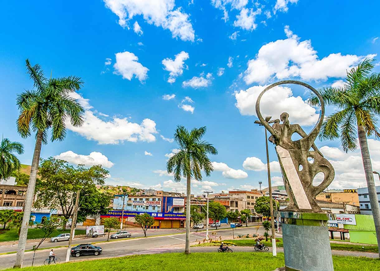 Panorâmica da cidade (Foto: divulgação)