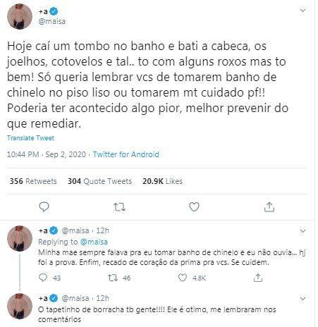 Twitter Maisa