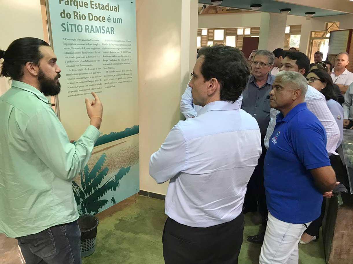 Visita do Secretário em Ipatinga (Foto: divulgação)