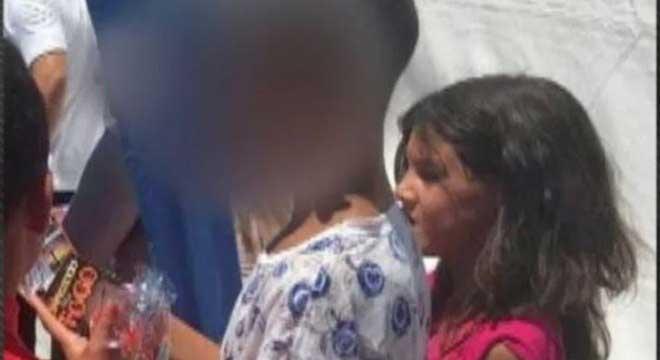 Garoto de 12 anos confessou ter matado a menina Raíssa Eloá, de 9 anos Reprodução/Record TV