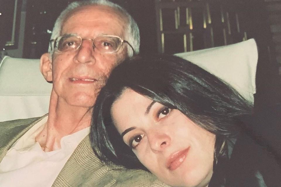 Ana Paula e o pai. (Foto: reprodução/Instagram)