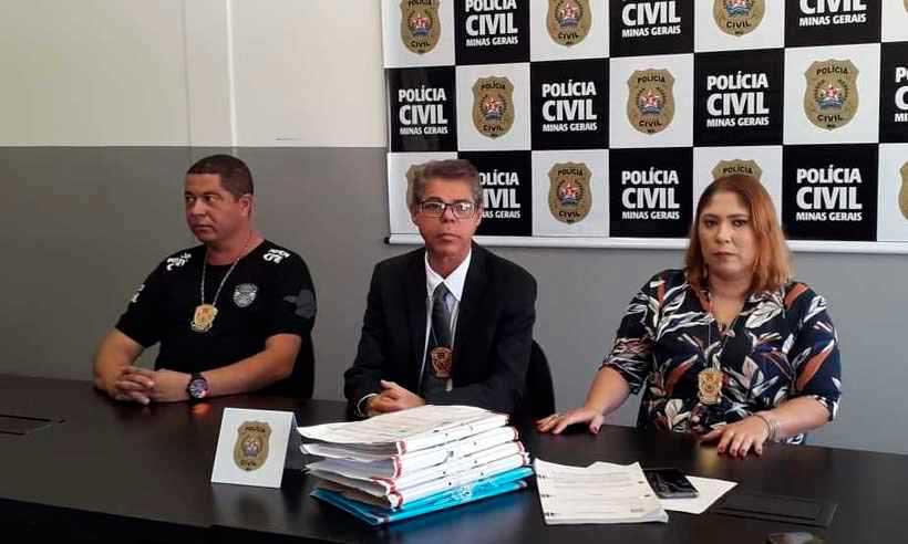 Os investigadores ouviram mais de 50 pessoas, apreenderam documentos e obtiveram laudos médicos dos internos (foto: Jair Amaral/EM/DA Press)