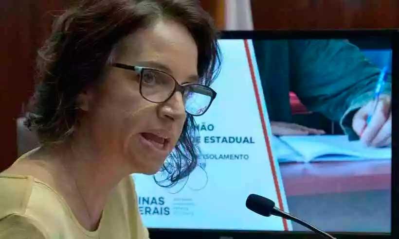 Secretária de estado da Educação, Júlia Sant'Anna dará mais detalhes sobre volta às aulas em entrevista nesta quarta-feira (foto: Willian Dias/ALMG)