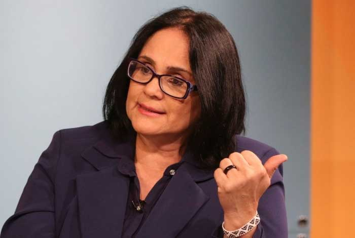 A ministra da Mulher, da Família e dos Direitos Humanos, Damares Alves - Valter Campanato/Agência Brasil