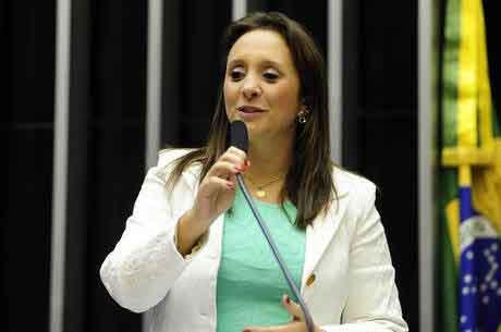 Deputada federal Renata Abreu (Podemos) Gustavo Lima/24.mar.2015/Câmara dos Deputados
