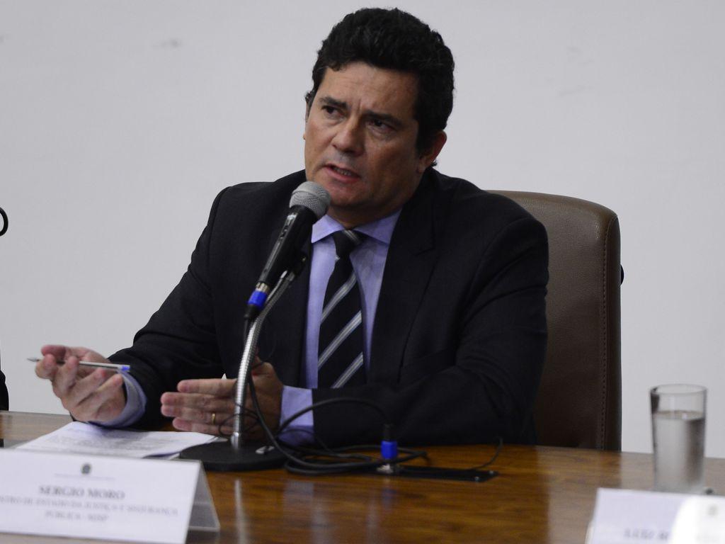 o ministro da justica e seguranca publica sergio moro fala a imprensa 0424202549